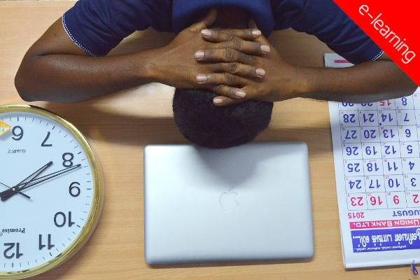 Gestão de tempo e stress